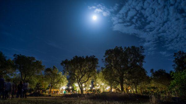 Parco dei Paduli in notturna